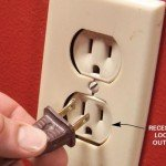 Recessed loose outlet