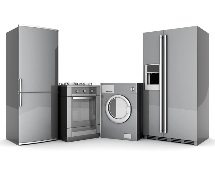 Refrigerators, Oven, and Washing Machine