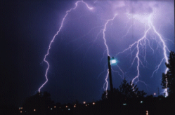 Surge Protection - Image of Lightning Strike