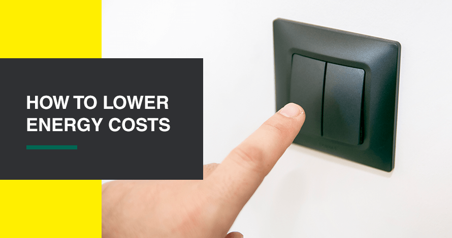 How to lower energy costs